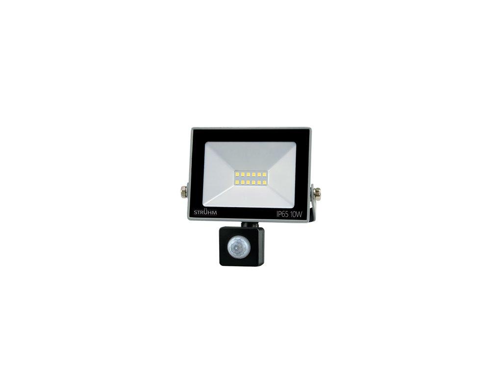 Reflektor KROMA LED S 10W 810lm 4500K IP65 120°  pohyb.senzor šedá