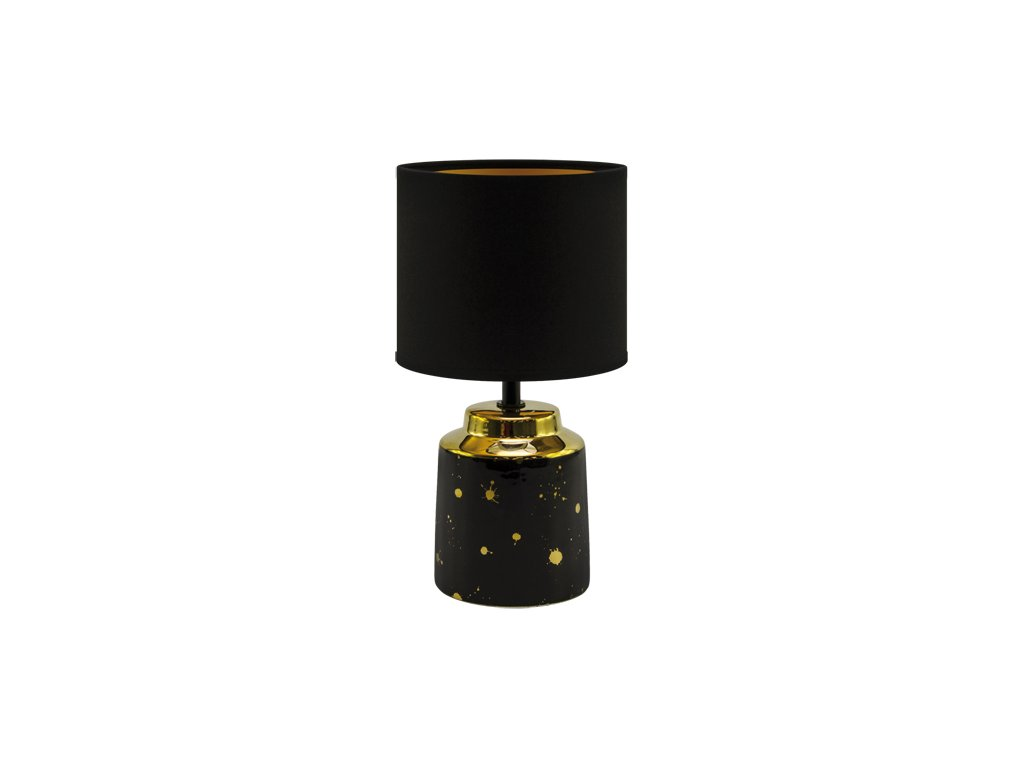 Stolní lampa HELENA E14 25W IP20 černá