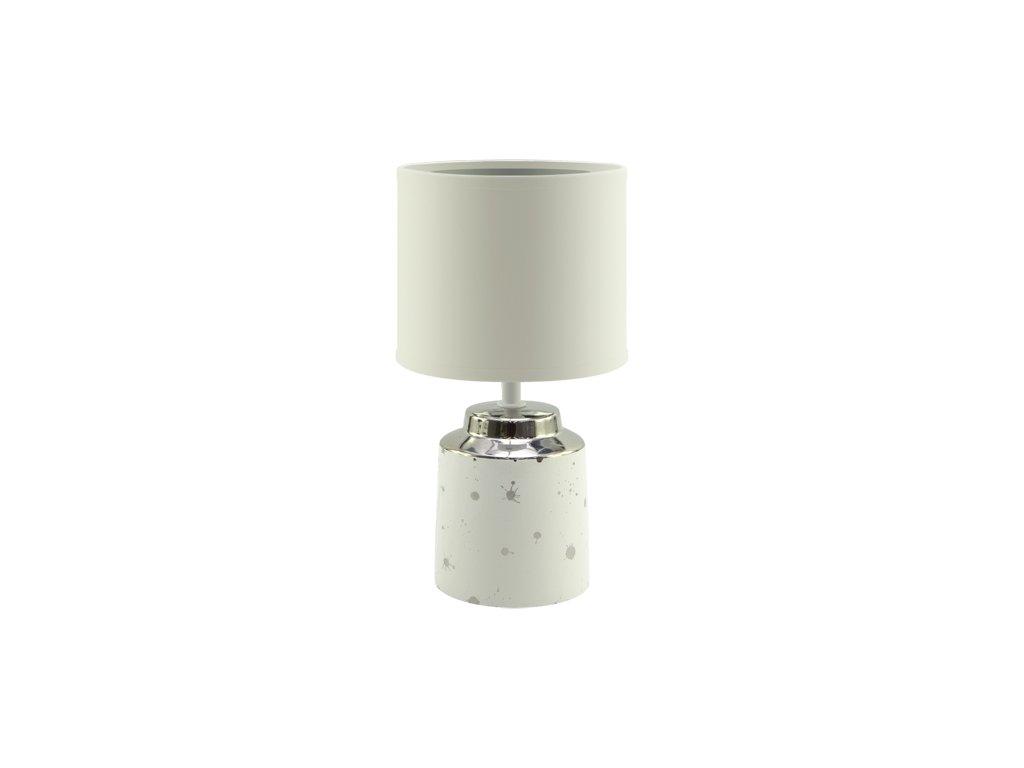 Stolní lampa HELENA E14 25W IP20 bílá
