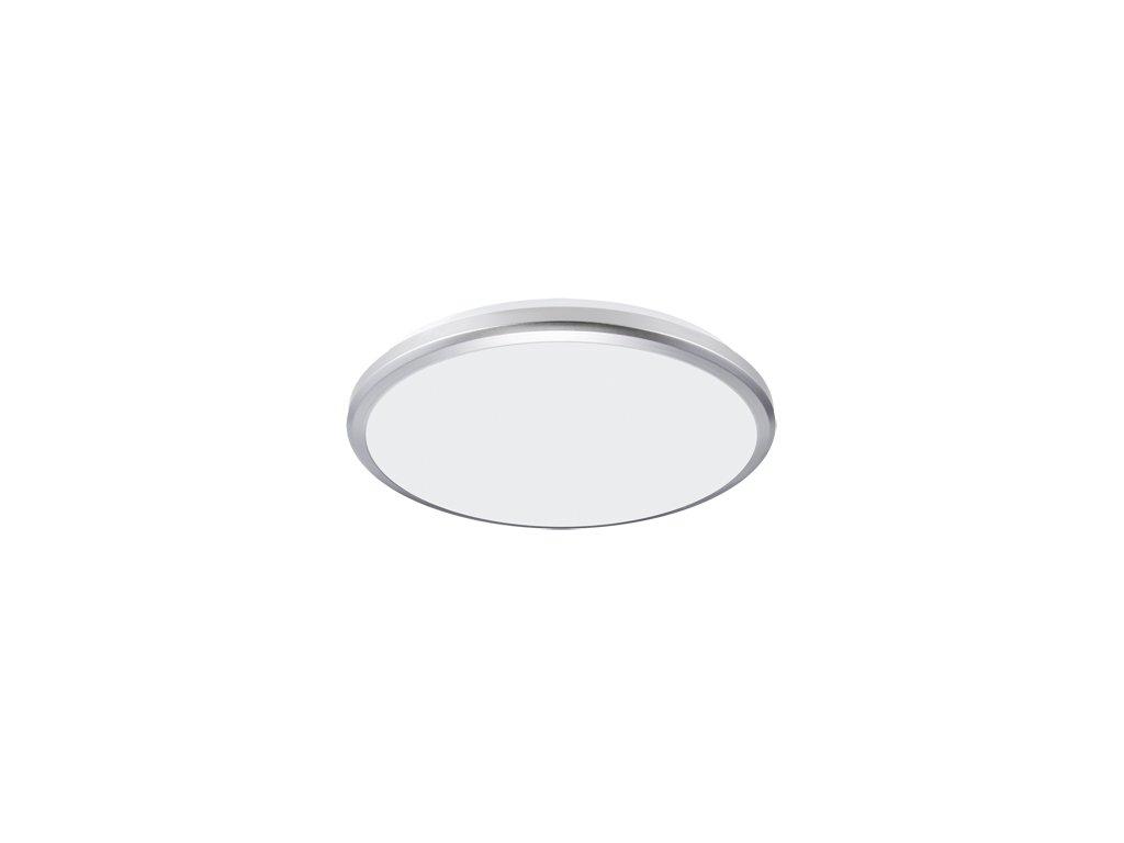 Plafoniera PLANAR LED 24W 4000K IP54 stříbrná