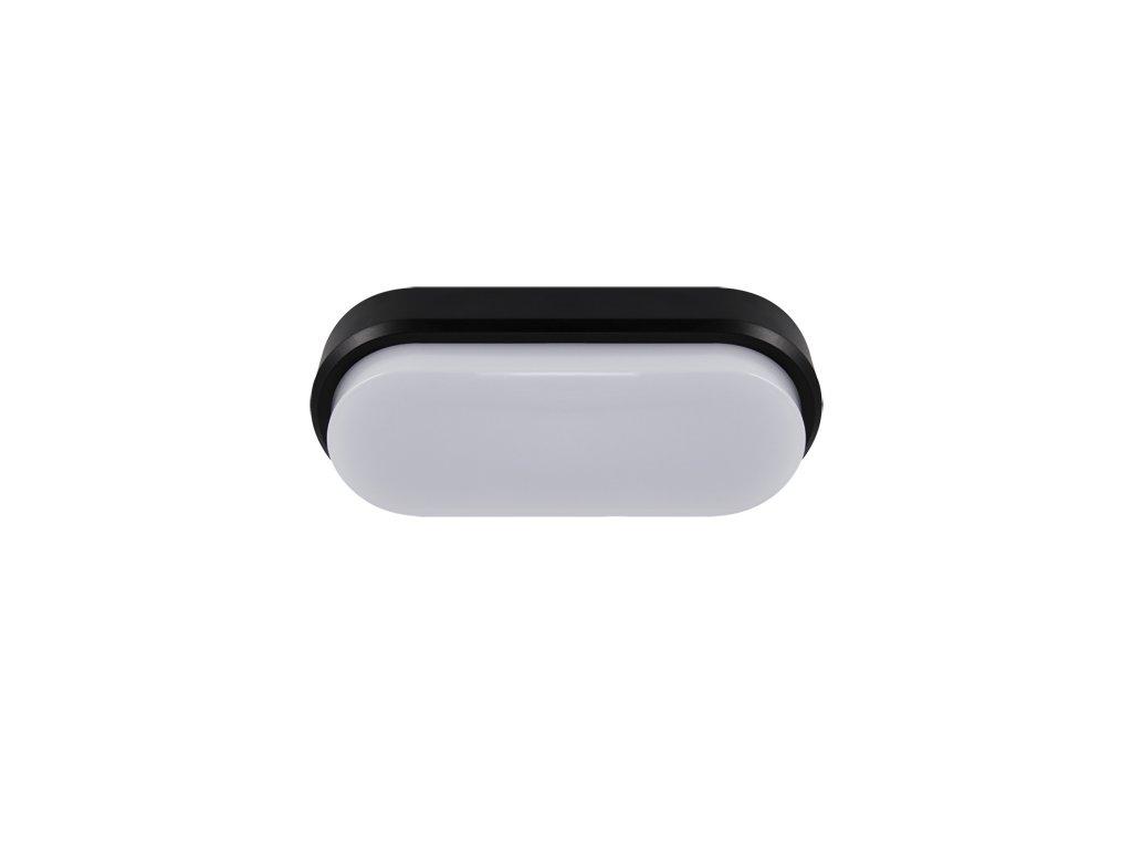 Plafoniera ARON LED L 18W 4000K IP65 černá