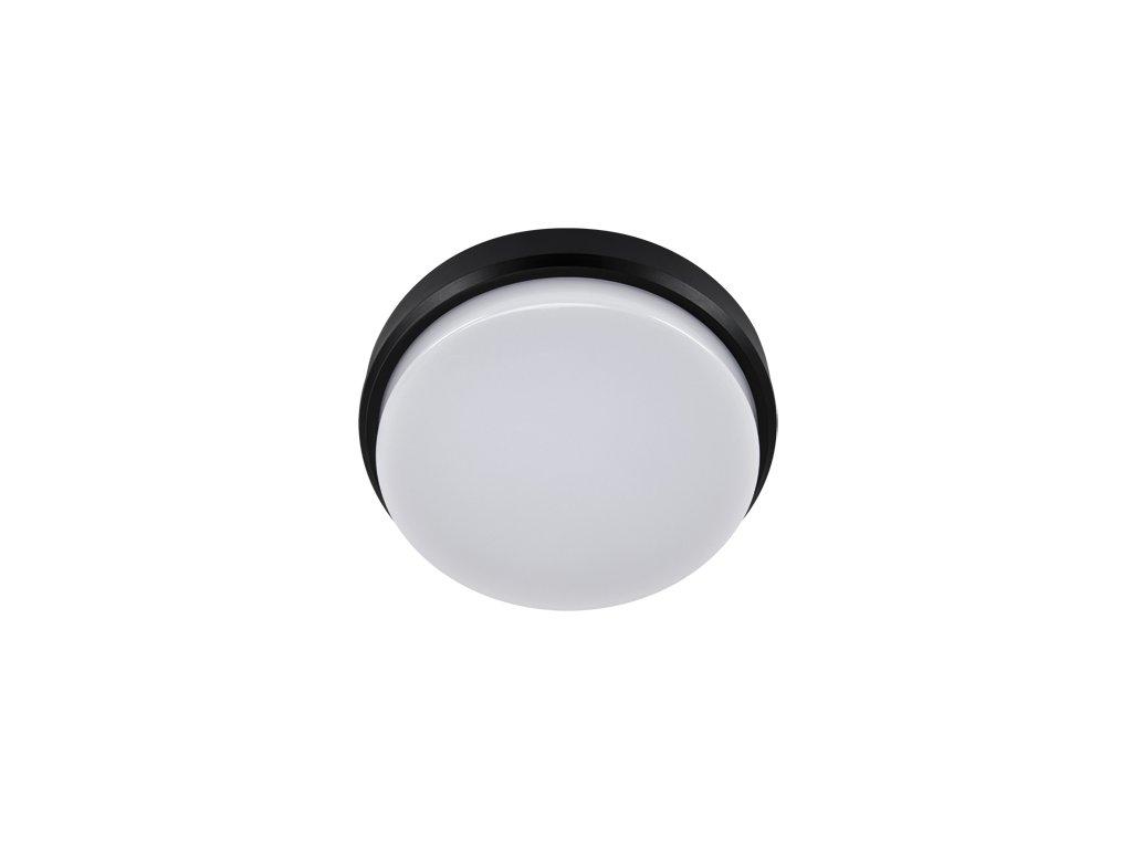 Plafoniera ARON LED C 12W 4000K IP65 černá