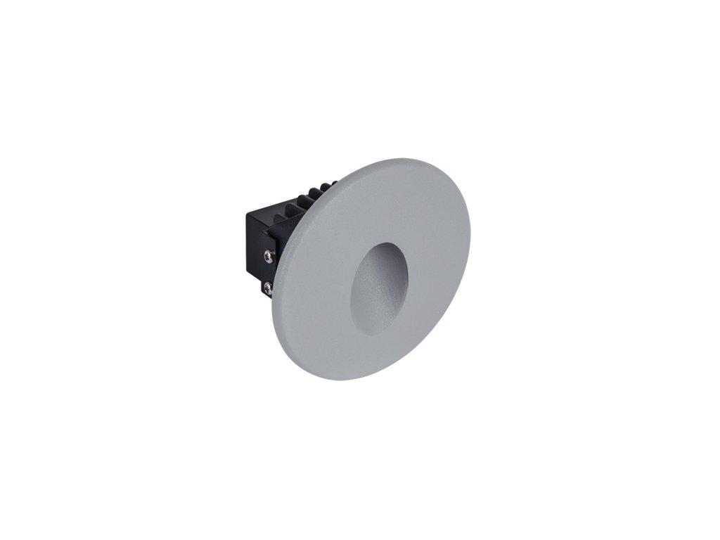 Dekorační svítidlo AZYL LED C 1,6W 70lm 4000K IP54 šedá