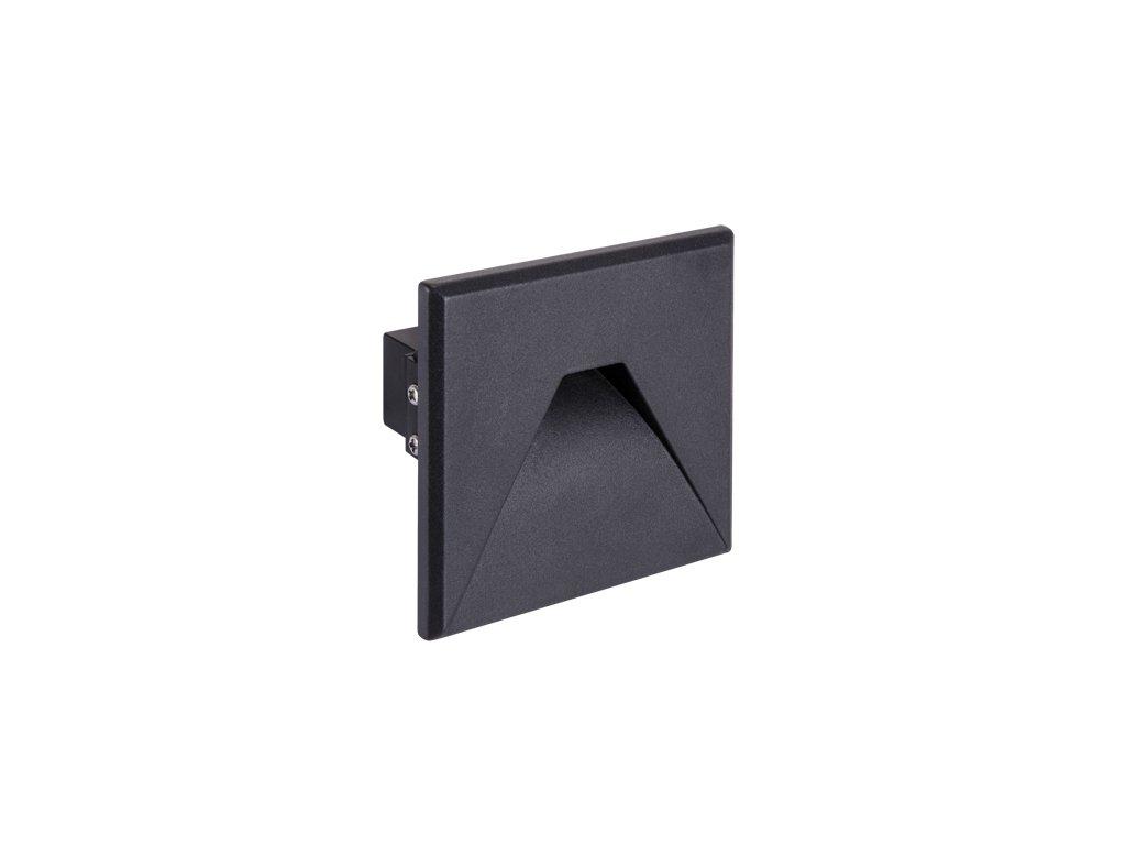 Dekorační svítidlo KURS LED D 1,6W 4000K IP54 černá