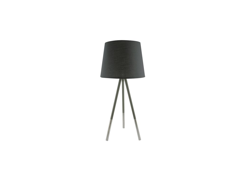 Stolní lampa RADAR 50 E14 max. 40W IP20 šedá