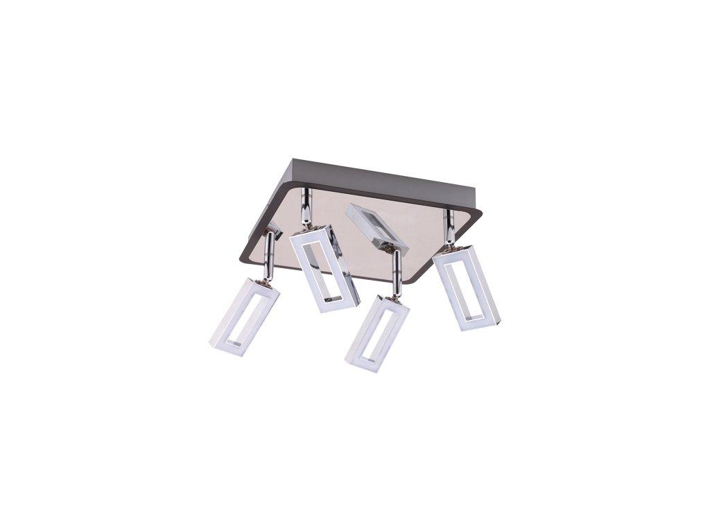 Přisazené svítidlo KENT LED 4D 4x6W 4x490lm IP20 3000K chrom