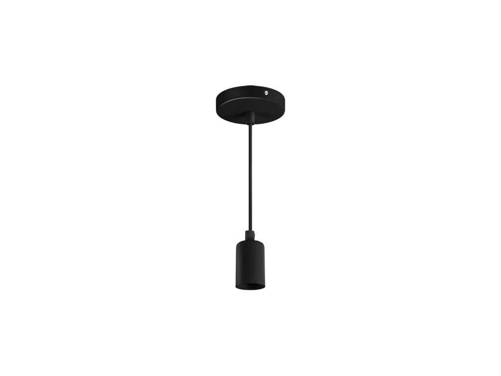 Závěsná lampa UNO E27 CLG max. 40W IP20 černá