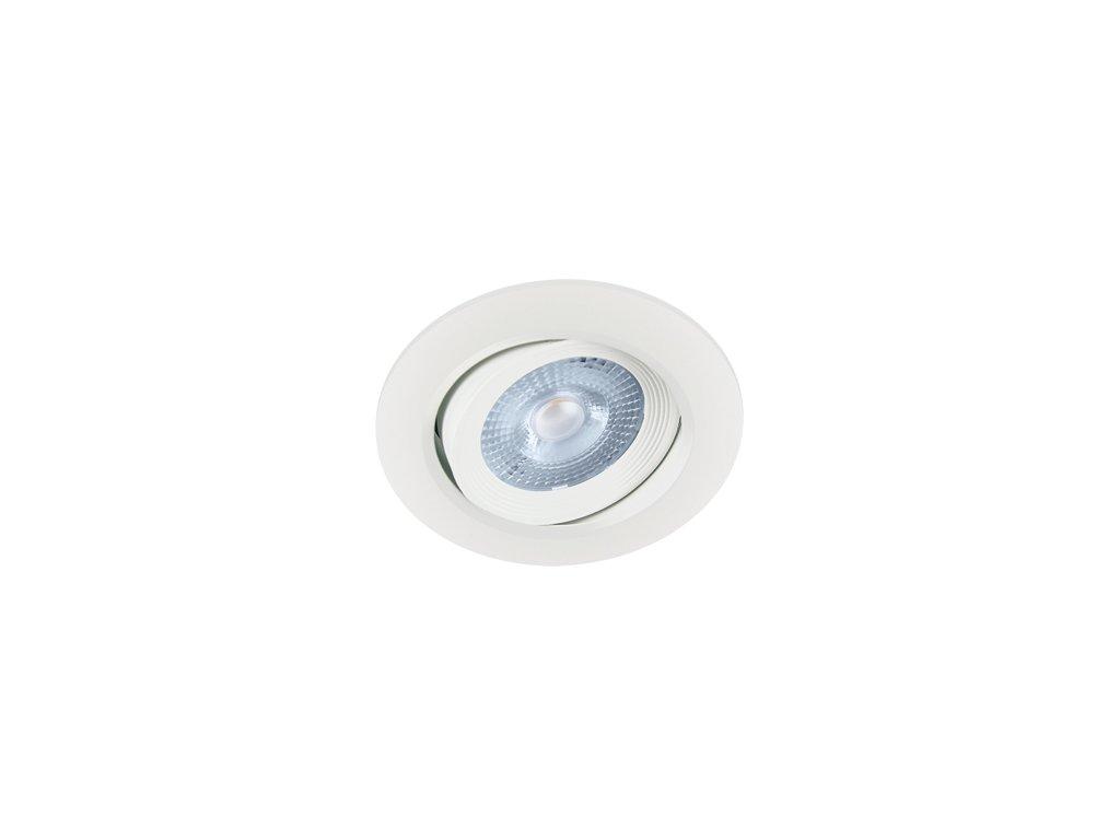 Downlight MONI LED C 5W 400lm 4000K IP20 38° bílá
