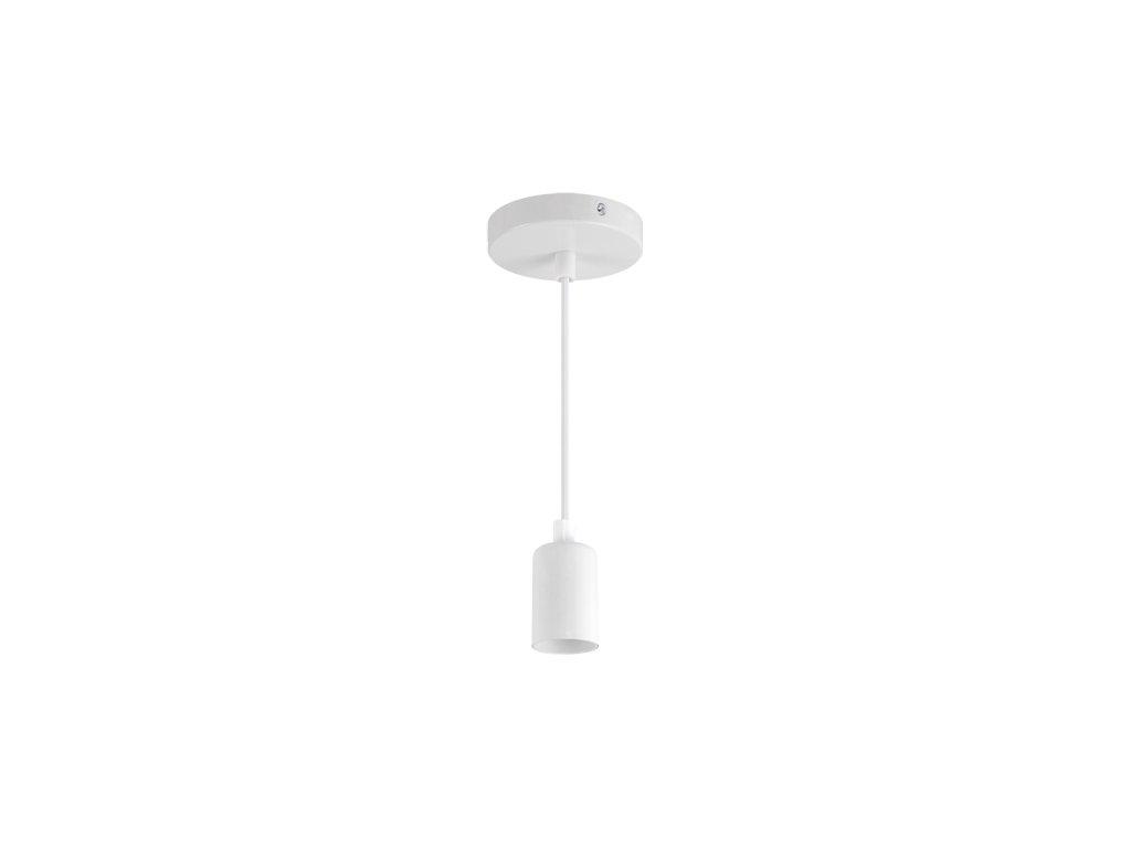Závěsná lampa UNO E27 CLG max. 40W IP20 bílá