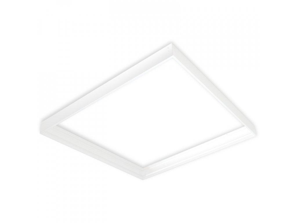 Montážní rám ZOLED pro přisazenou montáž, rozměr 60x60cm, bílá