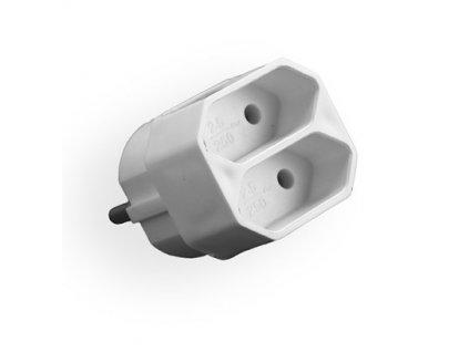 Adaptér R-2PC pro 2 ploché vidlice Euro