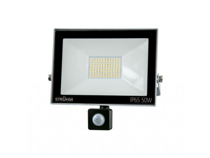 Reflektor KROMA LED S 50W 4000lm 4500K IP65 120° pohyb. senzor šedá