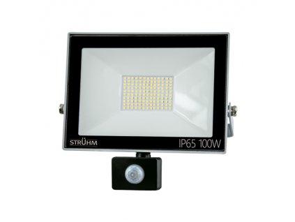Reflektor KROMA LED S 100W 4500K pohyb. senzor šedá