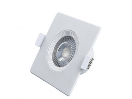 Downlight LED ALIS 6W 520lm 4000K IP40 hranaté