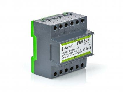PSS 50N 230/ 12V - Transformátor na DIN lištu