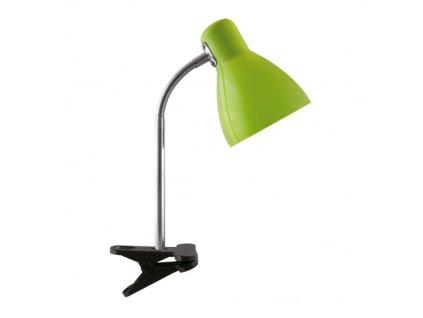 40643 stolni lampicka kati e27 green clip