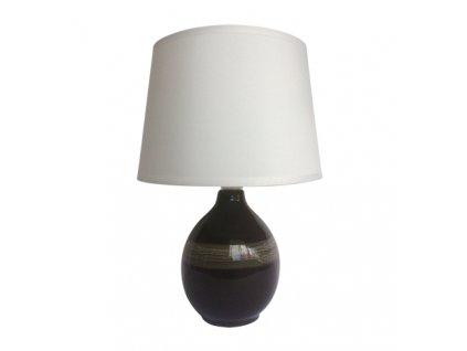41261 stolni lampicka roma e14 black