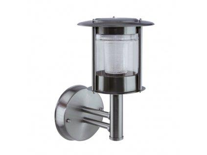 Zahradní solární lampa ESTERA LED WLL 0,12W 2x1,5lm 6500K IP44 360° chrom