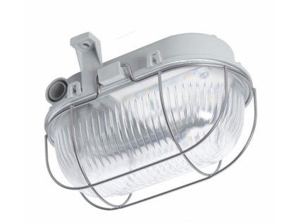 LED Přisazené svítidlo OVAL LED 3W SIMETAL šedá 4000K125x170x105mm DOB
