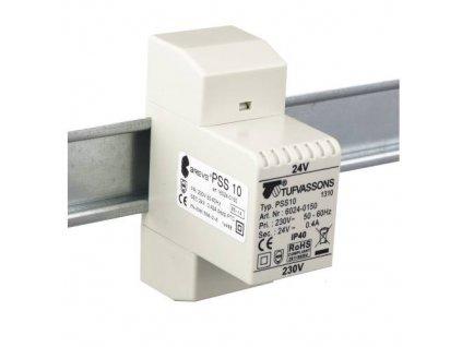 PSS  10T 230/ 24V Transformátor jednofázový, na DIN lištu, IP30