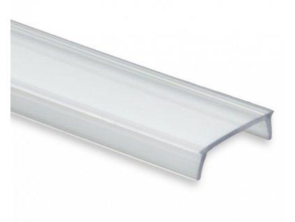 C2 difuzor čirý 200 cm, pro profily PL1 / PL2 / PL3 / PL7 / PL8