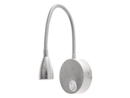 Lampa nástěnná NINA LED 3W stříbrná 4000K IP20 170lm