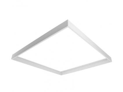 Montážní rámeček bezšroubový pro panel 600x600 - bílá ECO