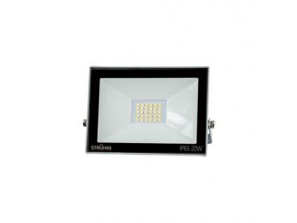 Reflektor KROMA LED 20W 6500K šedá