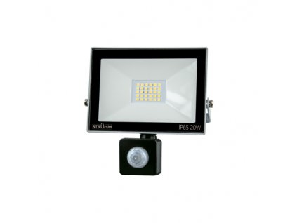 Reflektor KROMA LED S 20W 6500K pohyb. senzor šedá