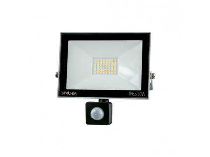 Reflektor KROMA LED S 30W 2400lm 6500K IP65 120° pohyb. senzor šedá
