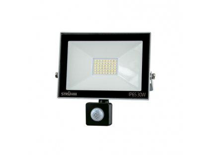 Reflektor KROMA LED S 30W 6500K pohyb. senzor šedá