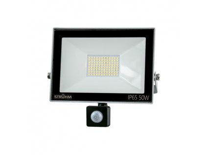 Reflektor KROMA LED S 50W 4000lm 6500K IP65 120° pohyb. senzor šedá