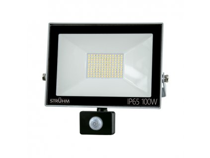 Reflektor KROMA LED S 100W 8000lm 6500K IP65 120° pohyb. senzor šedá