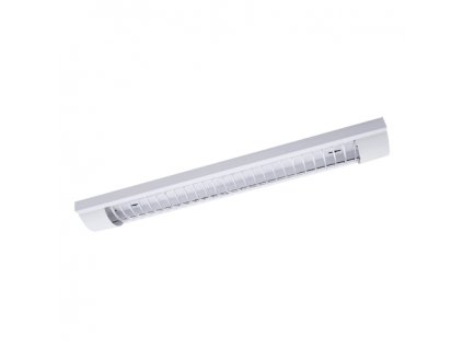 Liniové svítidlo POGO LED2X18W GRILL IP20 bílá