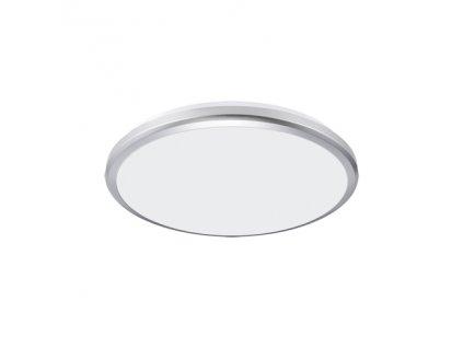Plafoniera PLANAR LED 18W 4000K IP54 stříbrná