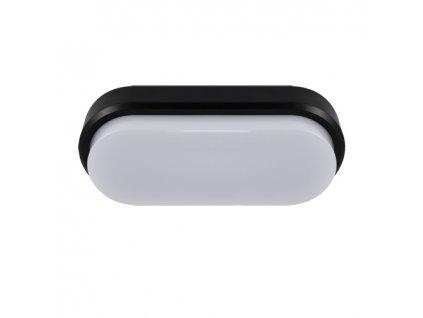 Plafoniera ARON LED L 12W 4000K IP65 černá