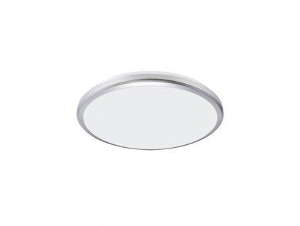 Plafoniera PLANAR LED 12W 4000K IP54 stříbrná