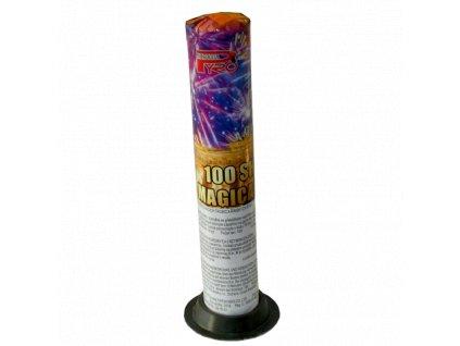 Baterie římských svící 100 výstřelů