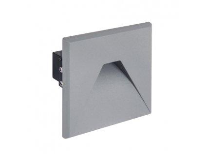 Dekorační svítidlo KURS LED D 1,6W 75lm 4000K IP54 šedá
