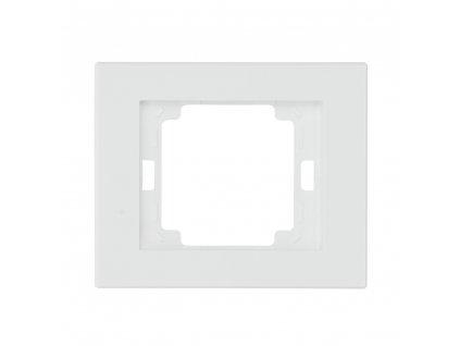 onyx ramka 1x poziom biale lista