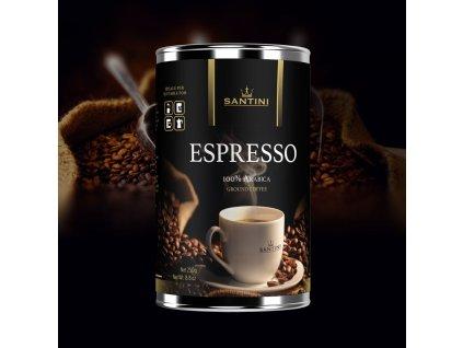 káva 250g plech