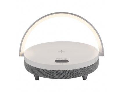 Stolní lampa SATURN LED bílá