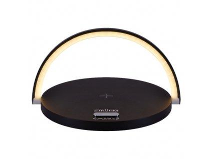 Stolní lampa SATURN LED, černá