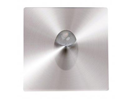 Schodišťové svítidlo ZUMRUT HL957L 3W 86lm 4000K IP20 30° matný chrom