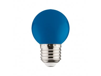 LED žárovka RAINBOW LED 1W 12lm E27 modrá