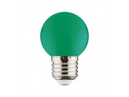 LED žárovka RAINBOW LED 1W 68lm E27 zelená