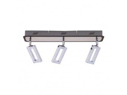 Přisazené svítidlo KENT LED 3L 3x6W 3x490lm IP20 3000K chrom
