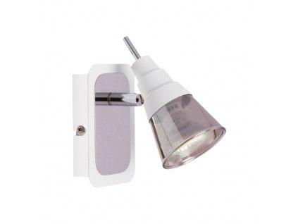 Přísazené svítidlo TOMI 1D GU10 max.35W IP20 chrom/bílá