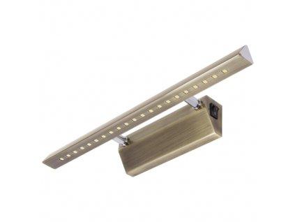Dekorační svítidlo RITON LED 4W 354lm 4000K IP20 60° mosaz