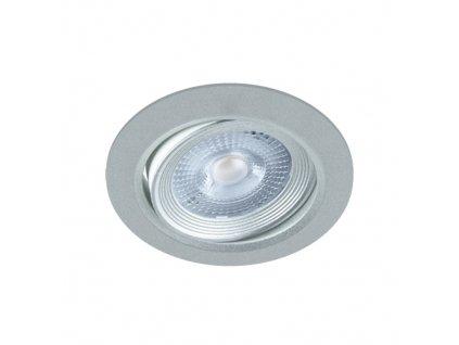 Downlight MONI LED C 5W 400lm 4000K IP20 38° stříbrná